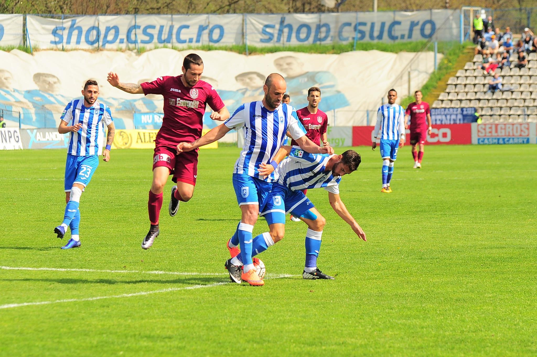 CFR 1907 Cluj - CS Universitatea Craiova (4 - 0) 26.05.2016   Cs U Craiova-cfr Cluj