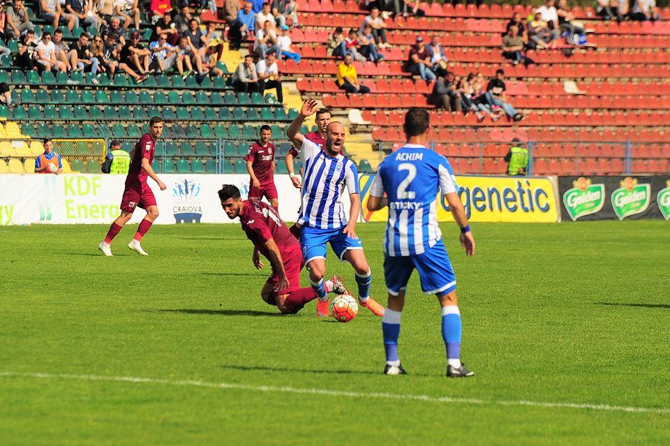 "LIGA I. CS ""U"" Craiova a remizat cu CFR Cluj și s-a ...   Cs U Craiova-cfr Cluj"