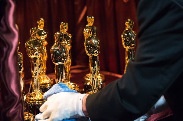 The Oscars statues backstage at The 87th Oscars® at the Dolby® Theatre in Hollywood, CA on Sunday, February 22, 2015.